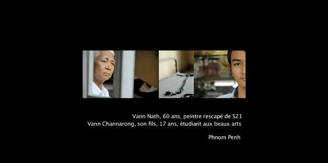 TRACES – La transmission de la période khmère rouge à travers les témoignages de cinq familles cambodgiennes.<br /> Travail photographique et sonore réalisé en collaboration avec Christine Bouteiller.